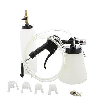 ABN vacío neumática purgador de freno y embrague Cilindro maestro Kit, 0,75 litro - 90 - 120 PSI presión de aire herramienta de purga de líquido: Amazon.es: ...