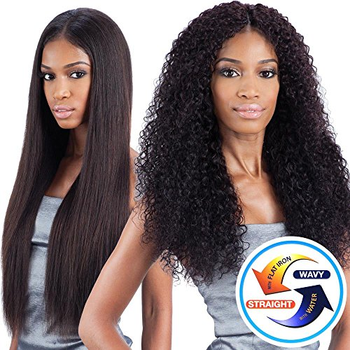 BOHEMIAN CURL 7PCS (18'' 20'' 22'') - Naked Nature Brazilian Virgin Remy 100% Human Hair Wet & Wavy by Naked