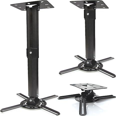 Fair Style Proyector Techo Giratorio 360 °, Extensible hasta 55 cm ...