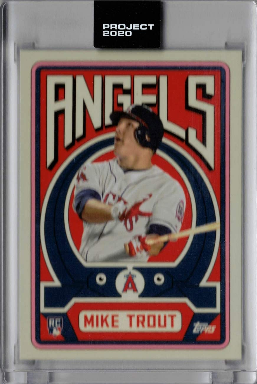 Topps Project 2020 Baseball Card #187 2011 Mike Trout by Grotesk