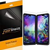 (3 Pack) Supershieldz Designed for LG G8X ThinQ Screen Protector, (3 Main Screen and 3 Dual Screen) High Definition Clear Shi