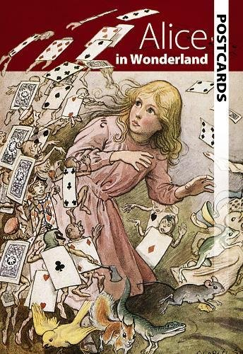 Alice in Wonderland Postcards (Dover Postcards)