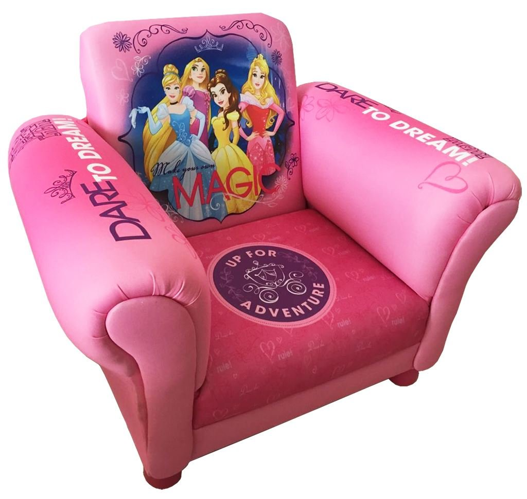 Delicieux Disneys Childrens Princess Childs Upholstered Armchair