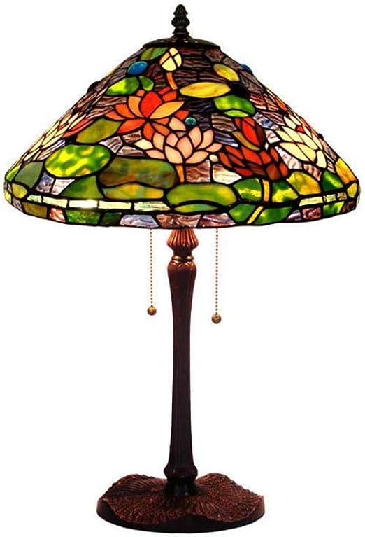 Lámparas de mesa estilo Tiffany de 16 pulgadas en retro ...
