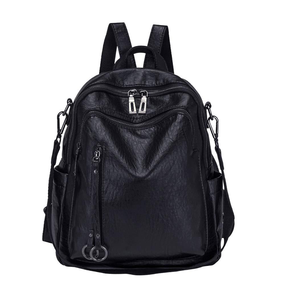 c17ffc8d476c Amazon.com: Women Backpack Purse, Modoker PU Leather Convertible ...