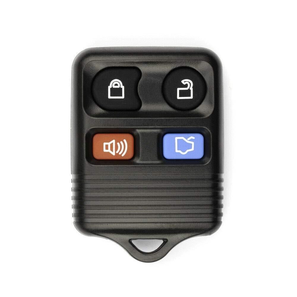 FikeyPro Keyless Entry Remote Control Car Key Fob fits Ford Lincoln Mercury 4-Button CWTWB1U212