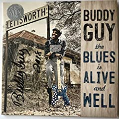 """This listing is for a authentic Buddy Guy autographed """"The Blues Is Alive And Well"""" album jacket. The 180 gram vinyl abum is included. Both the vinyl album and album jacket are in excellent unused condition. This album was signed at Buddy Guy..."""