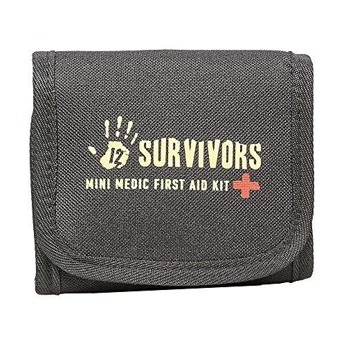 12 Survivors Mini Medic 60 Pc First Aid Kit