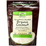 NOW Foods Organic - Coconut Shred, Unsweet-10 oz