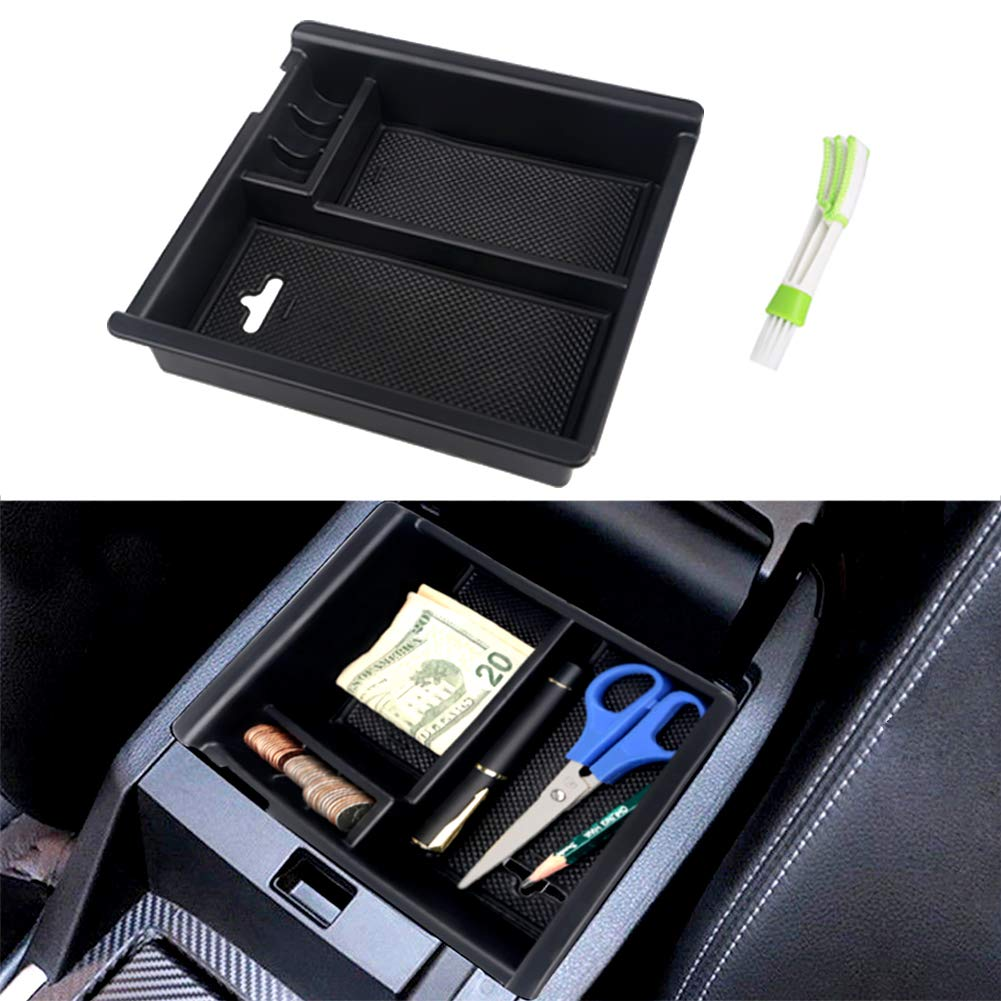 VANJING Center Console Organizer Tray for 2016-2018 Toyota C-HR CHR Accessories with A Cleaner Brush