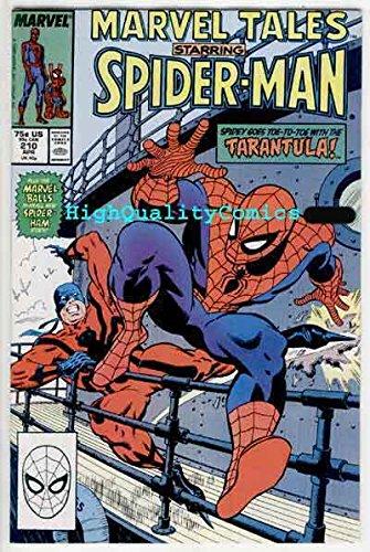 MARVEL TALES #210, NM, Spider-man, Tarantula,