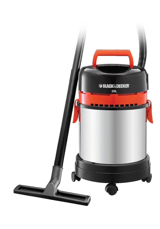 Black+Decker WBV1450 - Aspiradora en seco y húmedo, 1400 W, multicolor