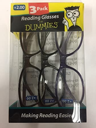 Amazon.com: Pack de 3 Lectura anteojos para los maniquíes ...
