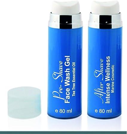 Limpieza Cara Natural Hombre Pack Ahorro After Shave + Gel Purificante Exfoliante y Limpiador Facial 80 ML X 2 Pack Regalo Hombre: Amazon.es: Belleza
