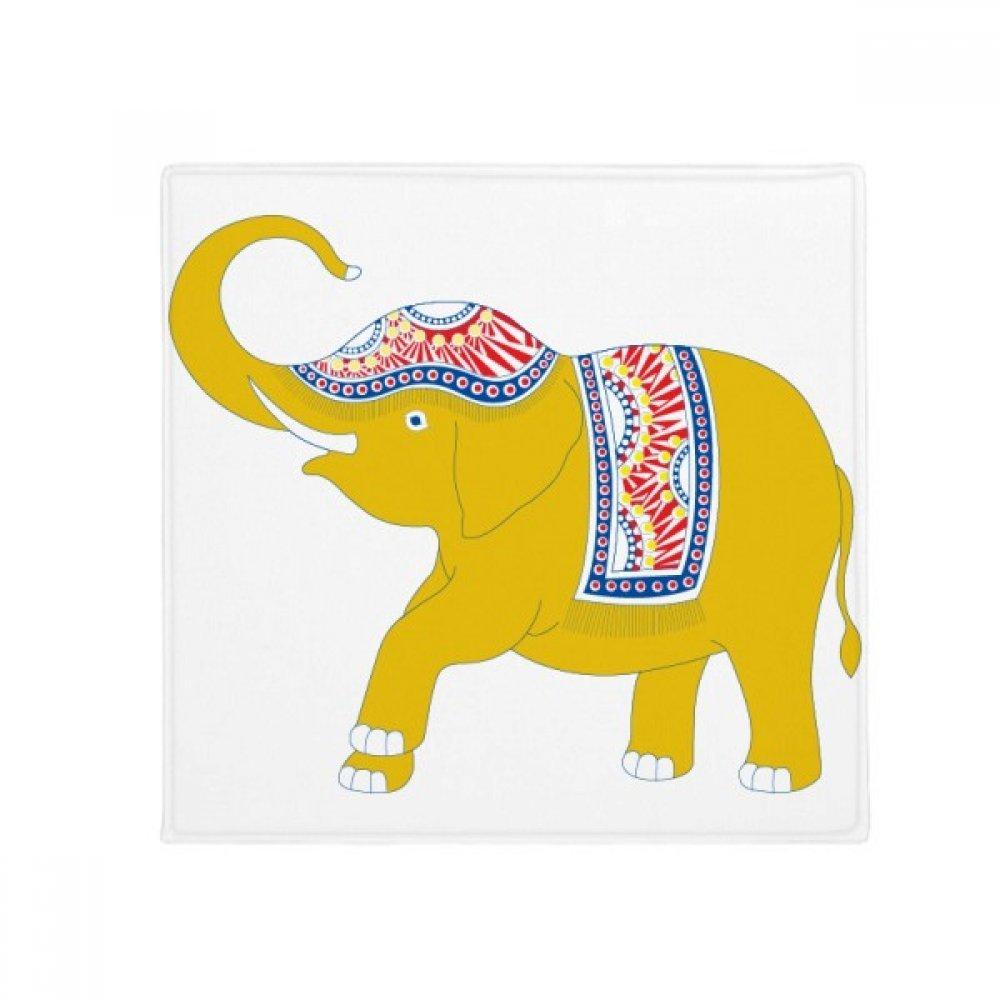 DIYthinker Thailand Yellow Elephant Shield Anti-Slip Floor Pet Mat Square Home Kitchen Door 80Cm Gift