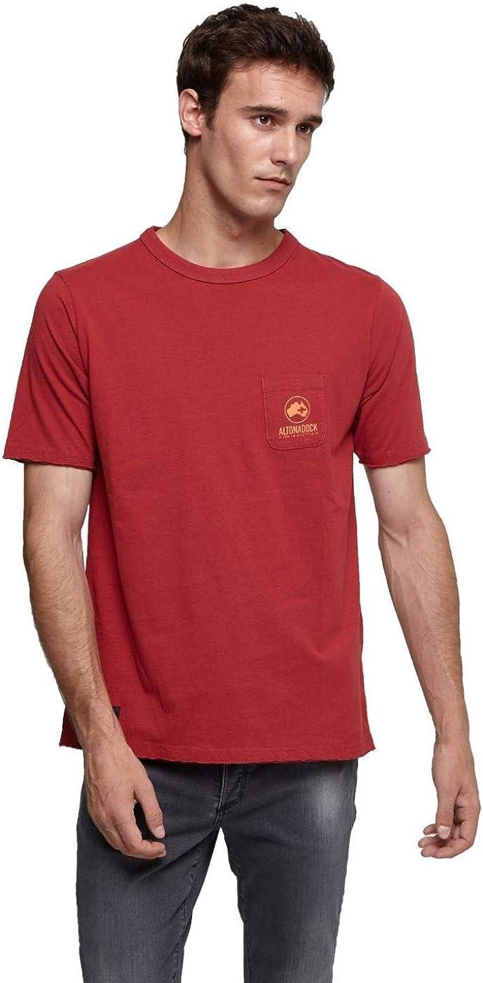 Altonadock Camiseta con Dibujo Lateral y Trasero