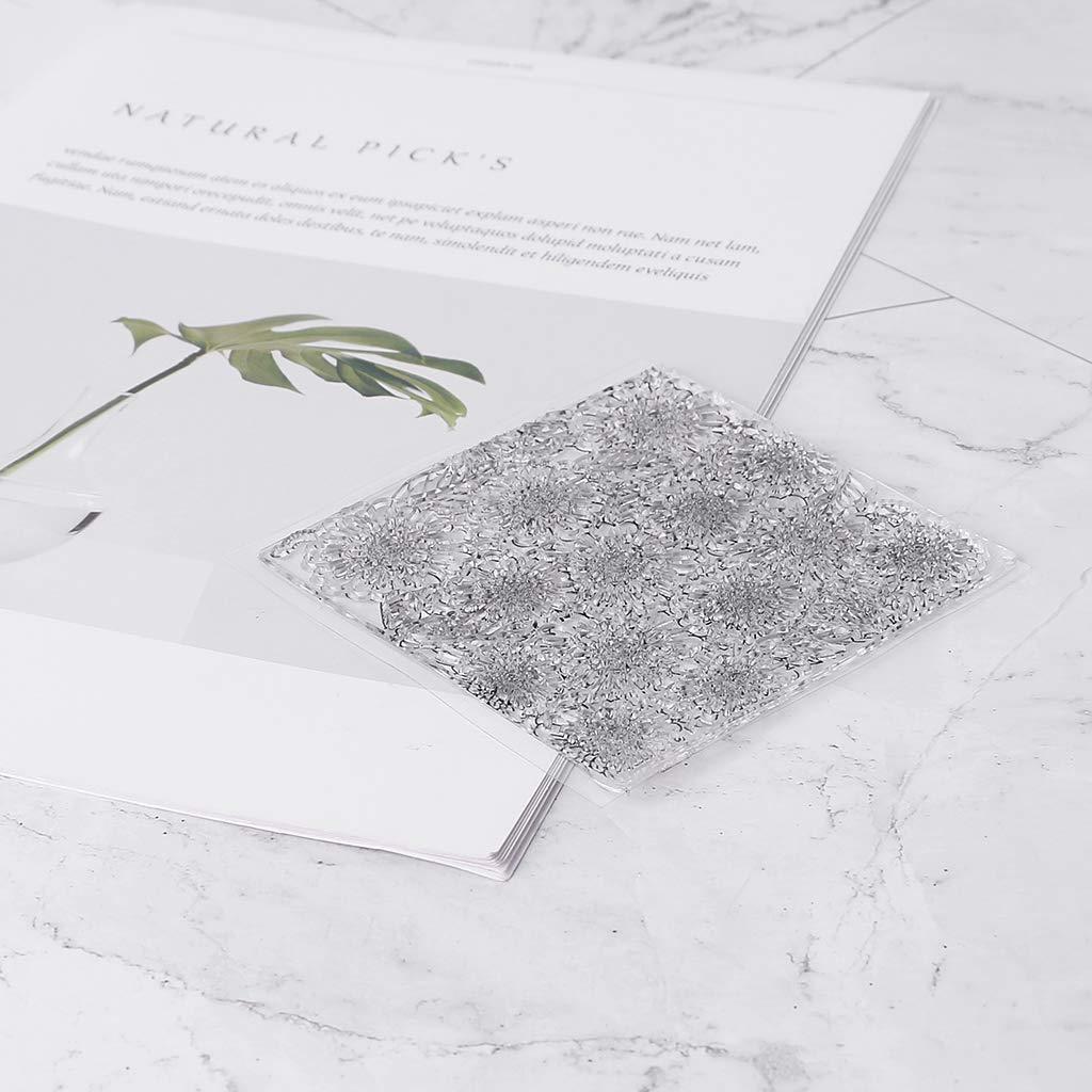 Exing fiori trasparente timbro Clear Stamp 10 cm x 10 cm Cling Seal DIY Scrapbook Embossing Album Decor Craft