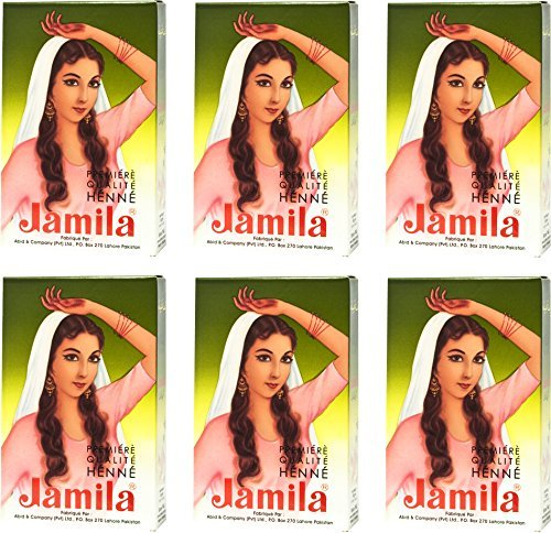Jamila Henna Powder, 6 Individual Packs from Chom