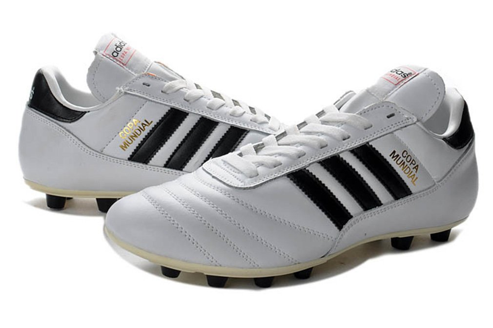 AFSISE0L Mens Copa Mundial FG-White Made in Germany Football Shoes Soccer Boots