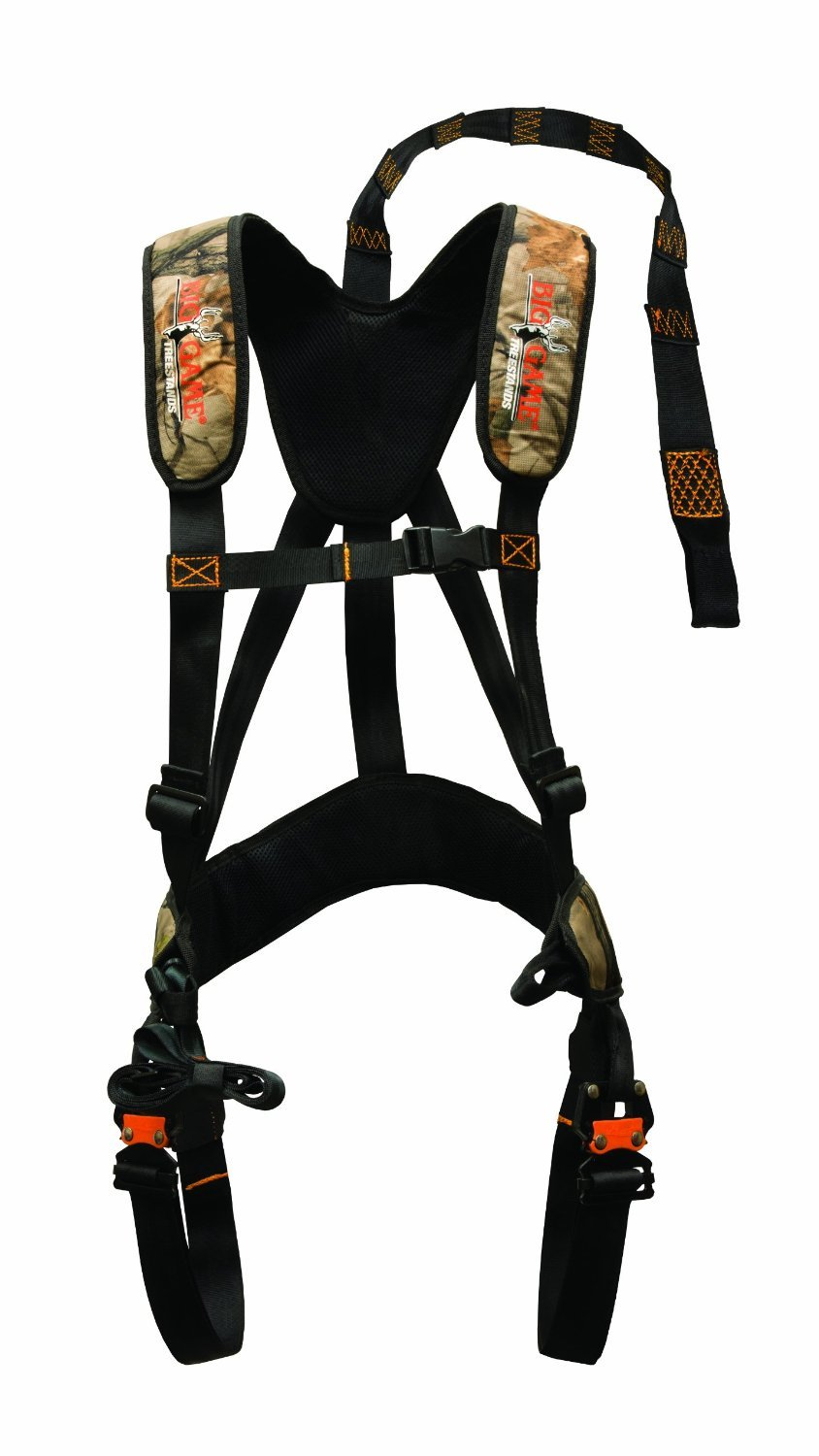 Big Game Ez-On Basic Safety Harness: