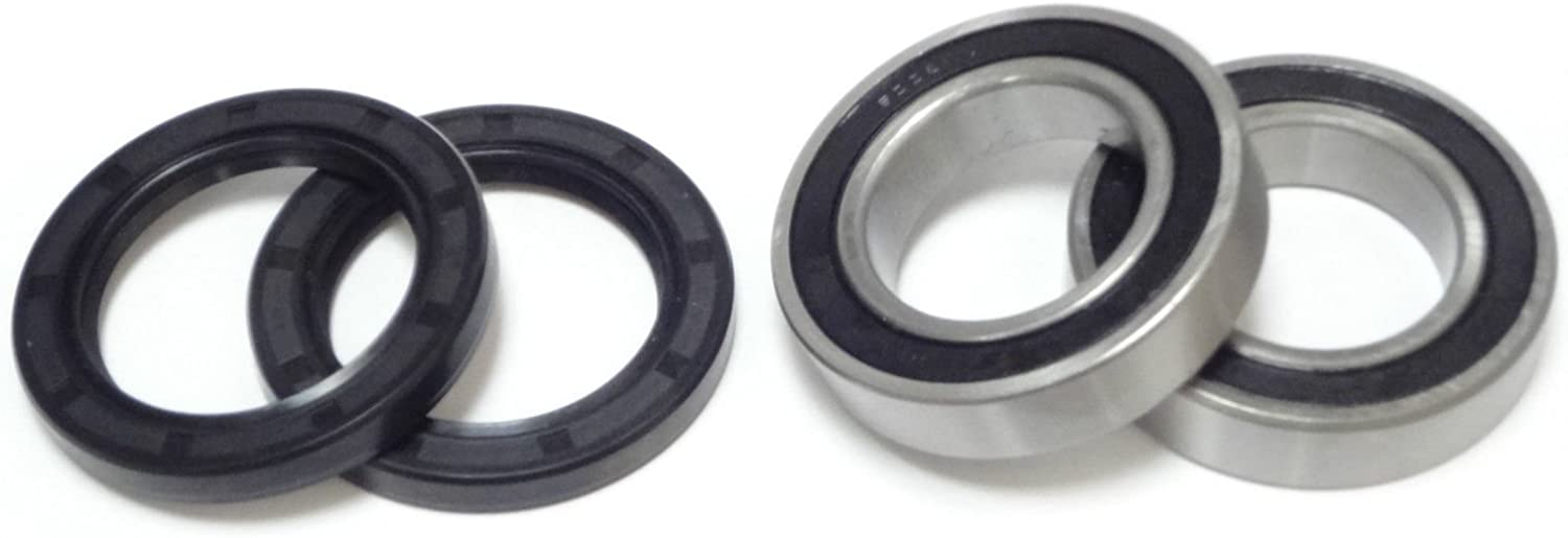 Suzuki LT250R Quadracer 1985-1992 Both Front Wheel Bearings And Seals LT 250R