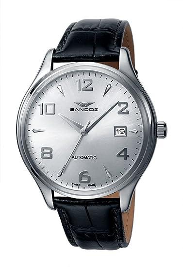 Reloj Sandoz The Ny 81309-00 Hombre Gris