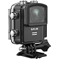 SJCAM M20 16MP 4k Action Camera, Sony Sensor/ 2.4G Remote Control/Gyro Stabilization/ 170 Degree Wide Angle WiFi Waterproof Underwater Cameras+ Waterproof Case-Black