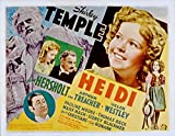 Heidi, Shirley Temple, Jean Hersholt, Marcia Mae Jones, Arthur Treacher, 1937 - Premium Movie Poster Reprint 16