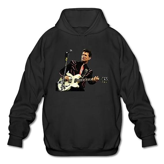 RAX Chris Isaak Rock musician. png sudadera con capucha para hombre negro: Amazon.es: Ropa y accesorios