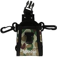 Haito Camouflage Vert Msc-20b Multi-fonctionnelle Housse Etui pour radio bidirectionnelle Motorola Kenwood Midland Icom Yaesu Baofeng Radio bidirectionnelle
