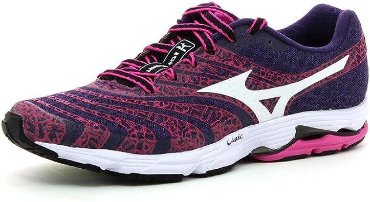 Mizuno Wave Sayonara 2 Women s Zapatilla De Running, Morado (Morado), 36.5: Amazon.es: Zapatos y complementos