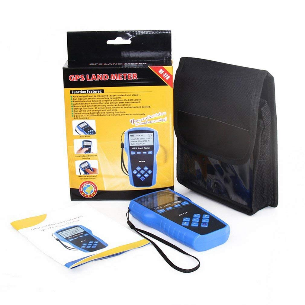 FDBF Land Meter LCD Screen Display GPS Test Devices Land Measuring Instrument