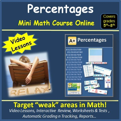 Amazon.com: Learn about Percentages (covers 5th to 8th grade ...