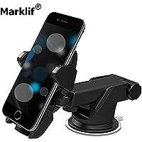 Marklif® 360 Degree Adjustable Universal Car Mobile Phone Holder (Car Mobile Holder) Click to Open expanded View