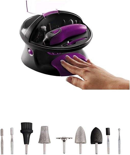 Domoclip Set de manicura y pedicura: Amazon.es: Salud y cuidado personal