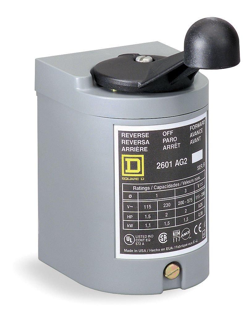 Amazon.com: SCHNEIDER ELECTRIC 2601BG1 600-Vac 2 Horsepower Drum ...
