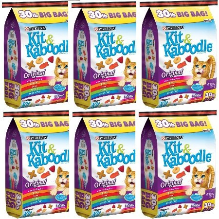 Purina Kit Kaboodle Original Cat Food 30 lb. Bag (6 Bag) by Purina Kit & Kaboodle