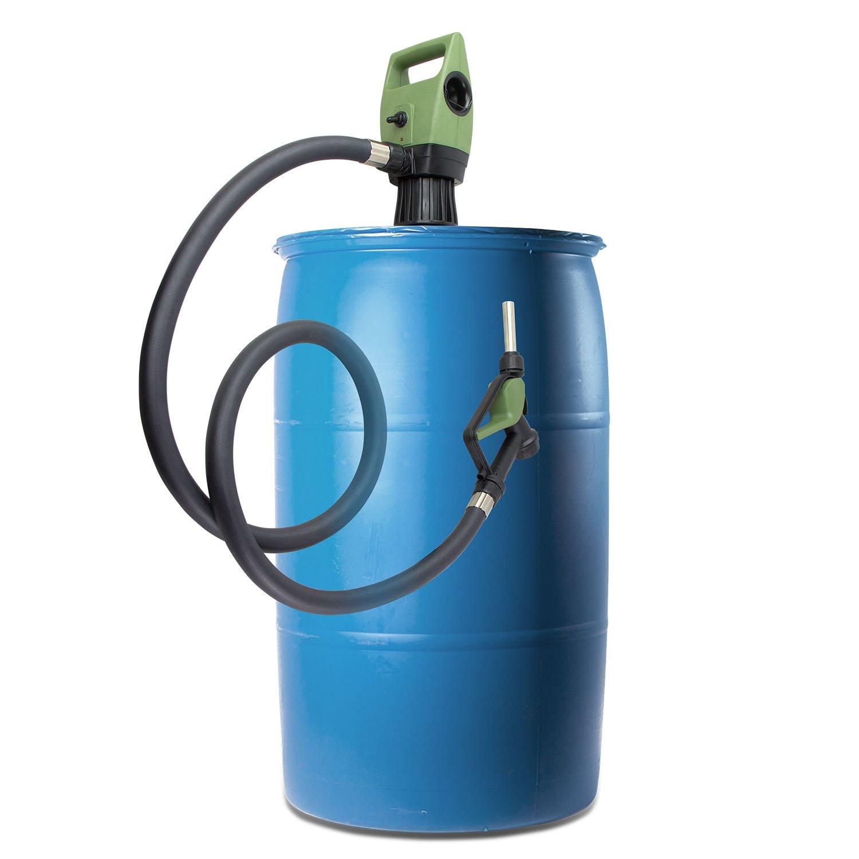 TERAPUMP TReDRUM 33.5-49'' IBC Totes Telescopic Plug-in Electric Drum Barrel Pump for DEF,Diesel, Kerosene,Antifreeze, Agricultural Chemicals by TERA PUMP (Image #1)
