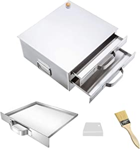 CABINAHOME Rice Noodle Roll Machine, Cooking Cuisine Guangdong Recipes Cookware, Chinese Rice Noodle Roll Food Steamer with 3 Stainless Steel Trays