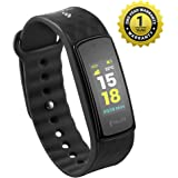 MEVOFIT Bold HR - Best Fitness Tracker Watch for Athletes & Sports PRO | Activity Tracker | Fitness Band | Rugged Fitness Tracker with Heart Rate & Big Color Display