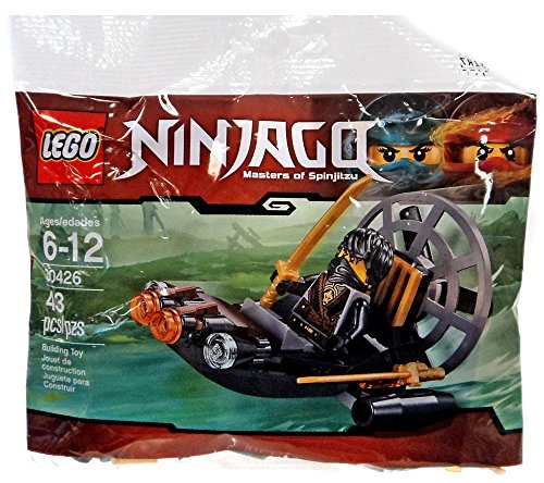 LEGO Ninjago Stealthy Swamp Airboat (30426) (Lego Ninjago Cole)