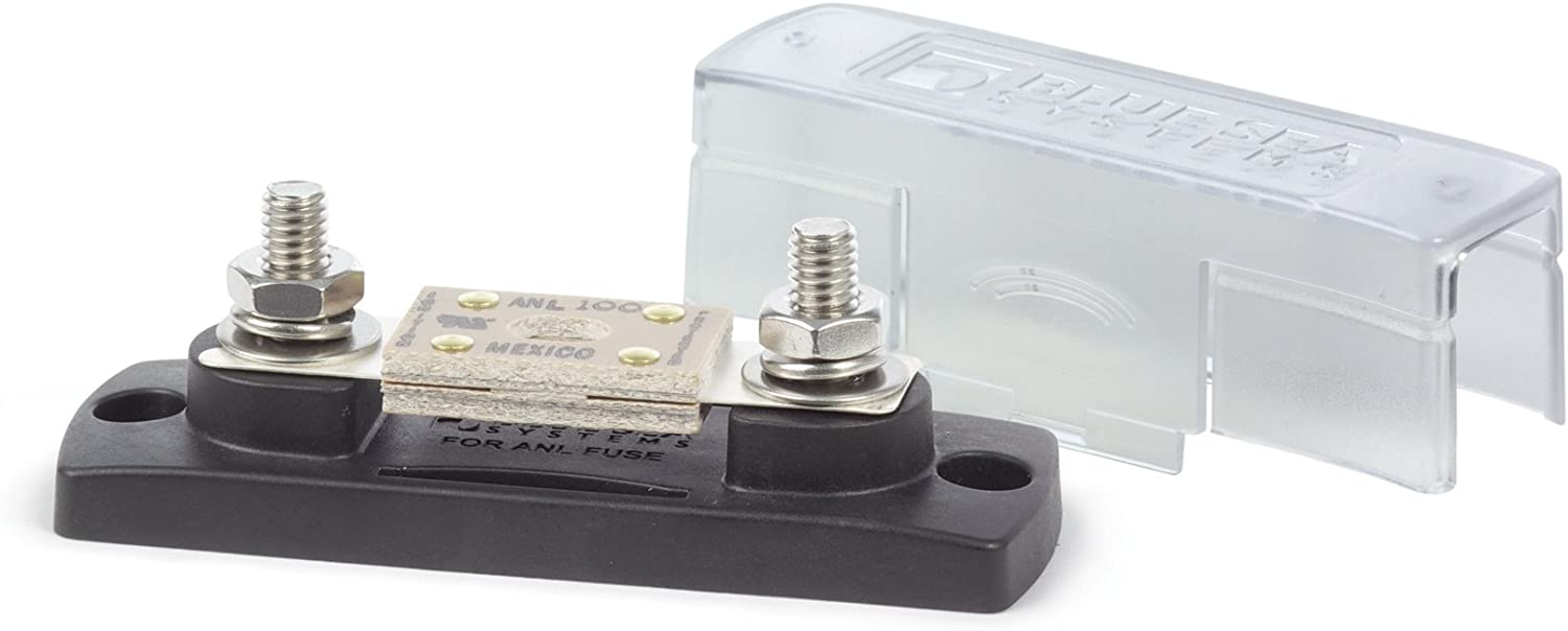 Amazon.com: Blue Sea Systems ANL Fuse Block with Insulating Cover - 35-300A  (5005): Sports & OutdoorsAmazon.com