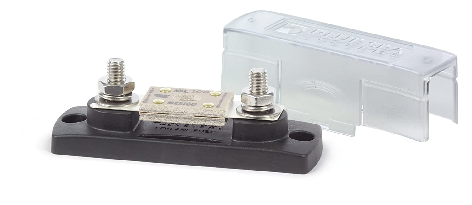 Blue Sea Systems Anl Fuse Block With Insulating Cover Home Built Box 35 300a Sports Outdoors