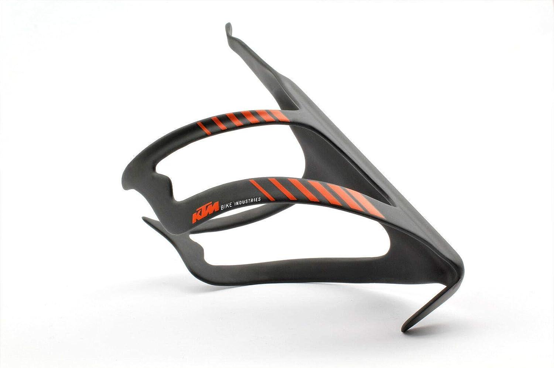 KTM - Portabidón para Bicicleta (Carbono, Incluye Llave), Color ...
