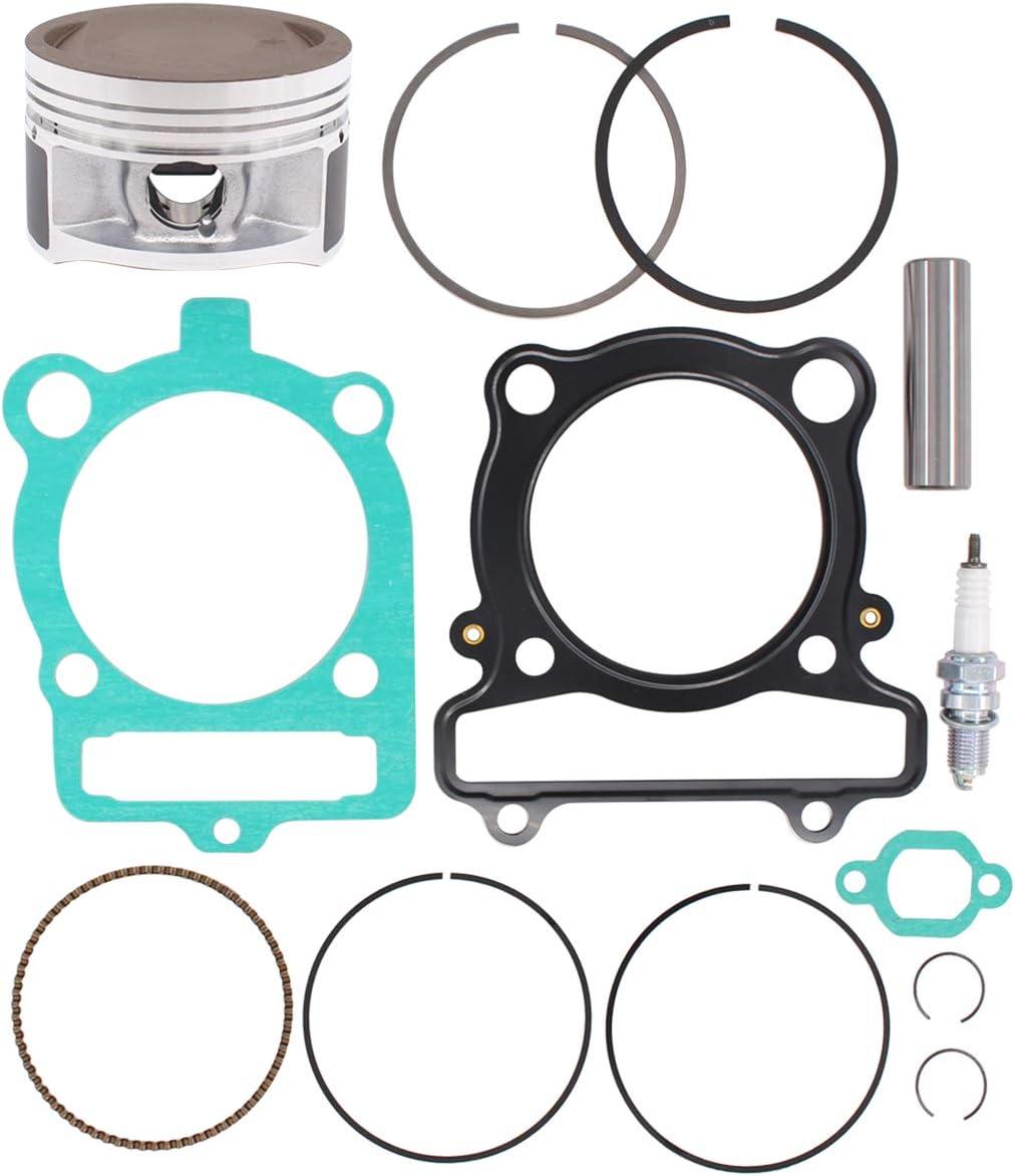 MOTOKU Piston Ring Gasket Kit for Yamaha YFM 350 Warrior Grizzly Raptor Bruin Wolverine Moto-4 350 YFM350
