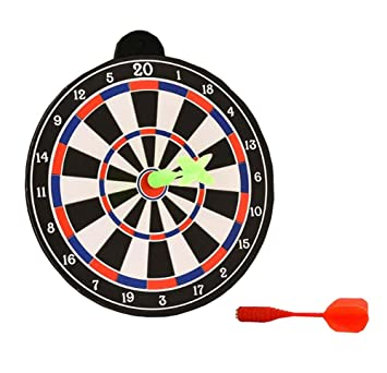 Charmant Mini Magnetic Desktop Dart Board With 2 Magnetic Darts Office Desk Toys,A