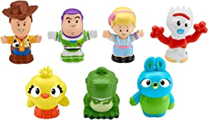 Toy Story Disney 4, 7 Friends Pack by Little People Limited Edition