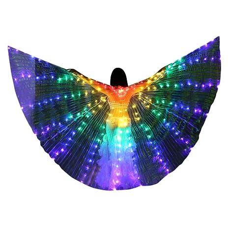 Surfiiy - Vestido de Danza del Vientre con Luces LED de ...