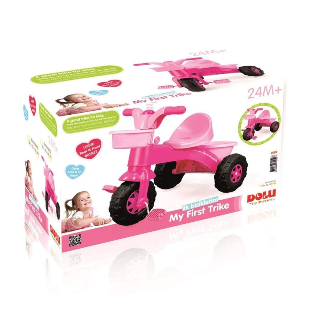 7dac05936ce Dolu 705 7005 My First Trike Scooter, Pink: Amazon.co.uk: Toys & Games