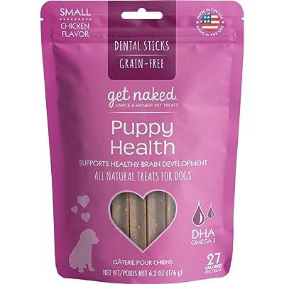 Get Naked Grain Free Puppy Health Dental Chew Sticks